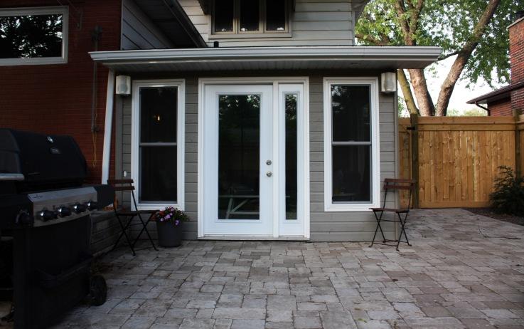 exterior after