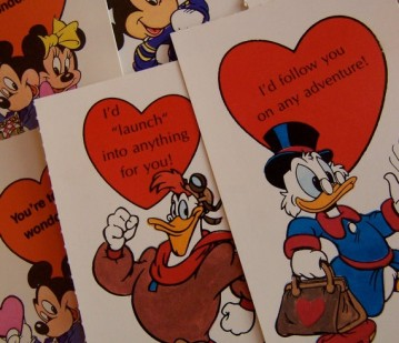 old school valentines day cards