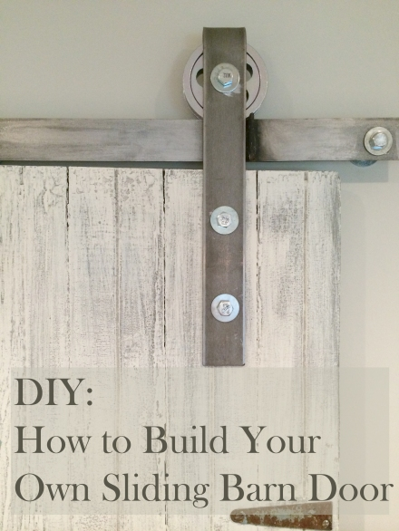 DIY How To Make Your Own Sliding Barn Door